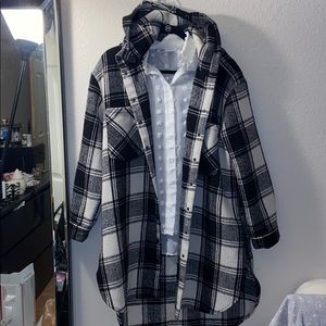 Forever 21 twill checkered Jacket